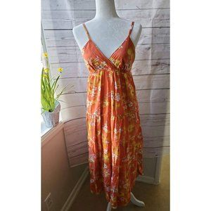Speed Control Boho Smocked Top Maxi Dress